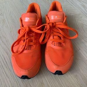 Stella McCartney x Adidas Orange Sneakers